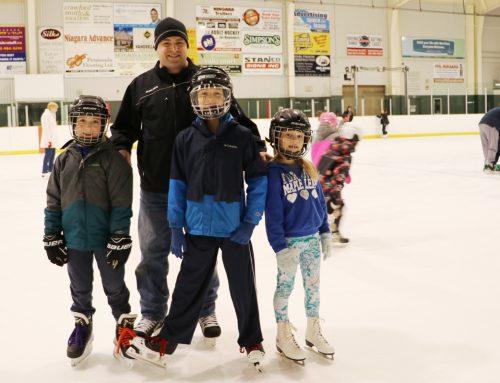 Family Day Free Skate Sponsored by FACS Niagara