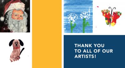 Kids' Art Greeting Cards