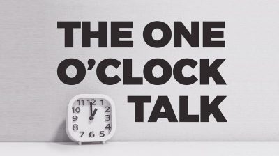 The One O'Clock Talk with Matt Holmes