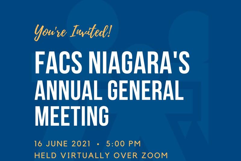 FACS Niagara's Annual General Meeting